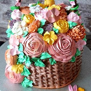 Blumen Cake - Cake by Fofaa22