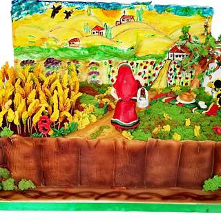 Harvest - Cake by Maia Simeonova