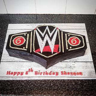 WWE World Heavyweight Championship  Belt cake