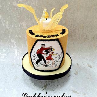 Salsa dancing cake - Cake by Gabby's cakes