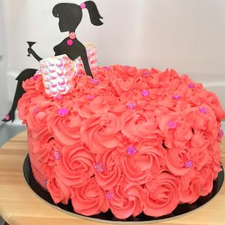 Dress cake - Cake by Tinkerbell sweets