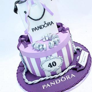 Pandora  birthday cake  - Cake by Celebration cakes