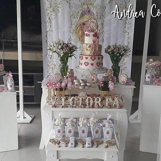 Barbie princess royal birthday - Cake by Andrea Colavita
