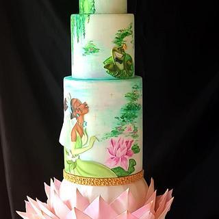 La principessa e il ranocchio  - Cake by Maria principessa