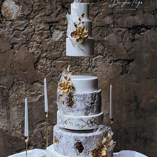 Wedding cake Marble - Cake by Dmytrii Puga