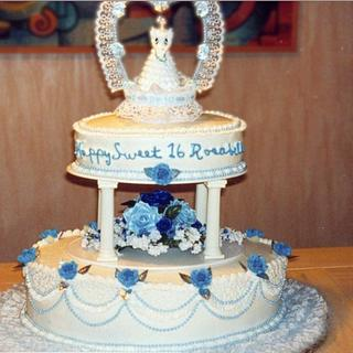Sweet sixteen - Cake by Julia