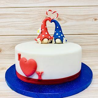 Love me tender - Cake by IlsognodiAnnette