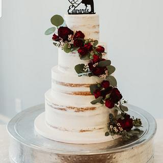 Wedding cake - Cake by Cakes For Fun