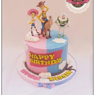 Toy story cake  - Cake by Dolly Hamada
