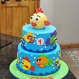 Tropical Fish First Birthday