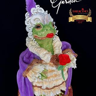 Fancy Frog Collaboration Madame Odette La Grenouille - Cake by Cake Garden