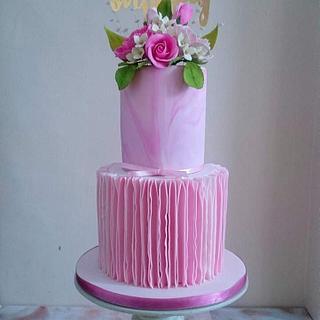 Birthday cake - Cake by beth