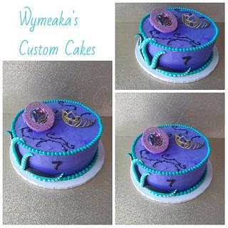 Descendants Buttercream Cake