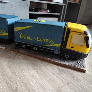 truck cake 3D