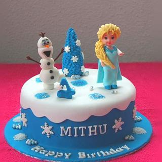 Frozen Theme Cake - Cake by Shilpa Kerkar