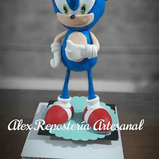 Sonic - Cake by Alexrepostería