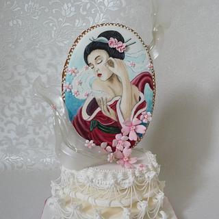 Dreamy geisha