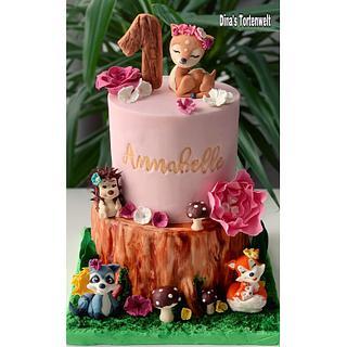 Woodland Cake  - Cake by Dina's Tortenwelt