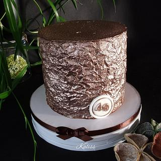 Bday ganache for men - Cake by Kaliss