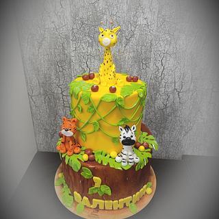 Safari cake - Cake by Tsanko Yurukov