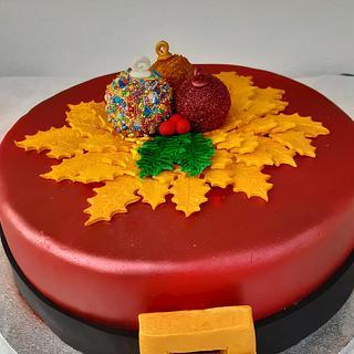 FESTIVE CAKE - Cake by Rena Kostoglou
