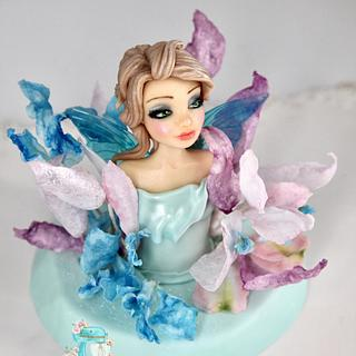 Fairy Cake topper  - Cake by Arianna