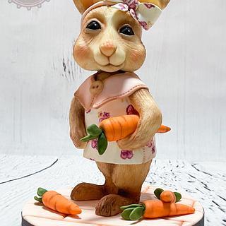 Babsi the bunny  - Cake by MellisTortenzauber