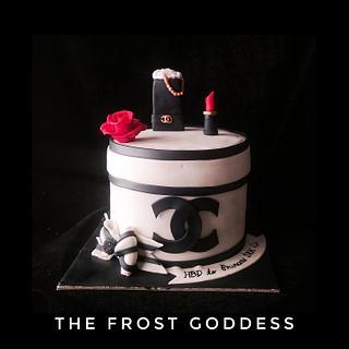 Chanel cake  - Cake by thefrostgoddess