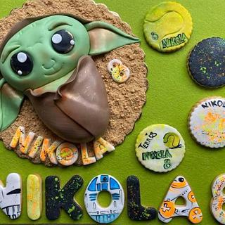 Baby Yoda - Cake by Mira Mihaylova