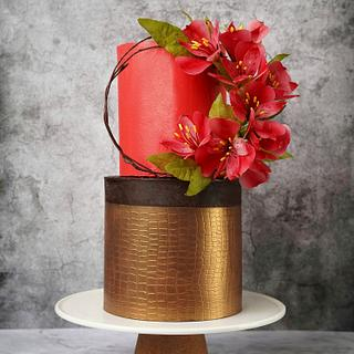 Fire🔥 - Cake by Chef Priyanka Deokar Ajwani