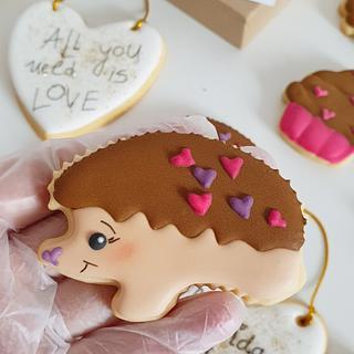 Galleta decorada con glasa royal - Cake by Pat