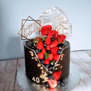 Chocolate cake  - Cake by alenascakes