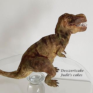 Tyrannosaurus modelling figure - Cake by Judit