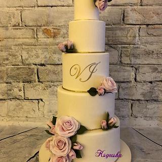 Wedding Cake - Cake by Ksyusha