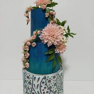Art of pottery an international cake art collaboration