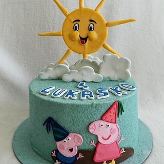 Peppa pig - Cake by Anka