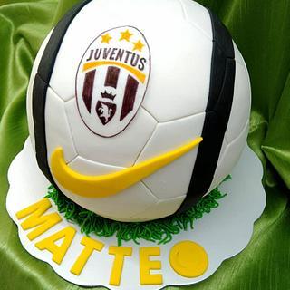 Juventus football cake