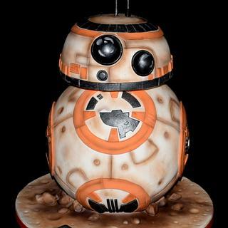 BB-8 - Cake by aniilievacakes