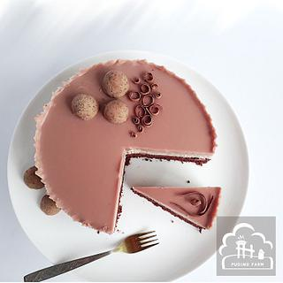Ruby Sea - Cake by PUDING FARM