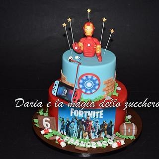 Fortnite cake - Cake by Daria Albanese