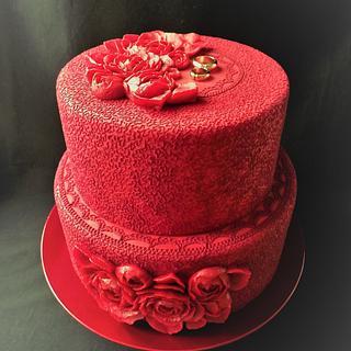 Wedding cake - Cake by lenicka