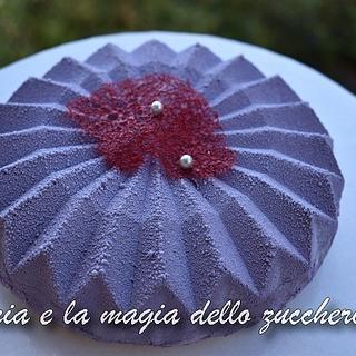 Origami modern cake