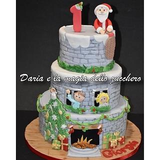 Waiting for Christmas cake