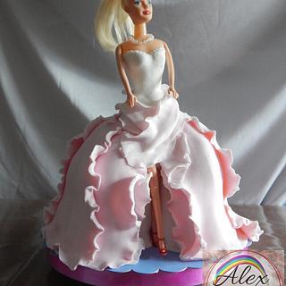 Mi Barbie - Cake by Alexrepostería