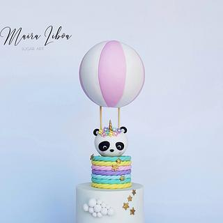 Pandicorn - Cake by Maira Liboa