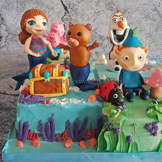 Themed birthday cake - Cake by Savitha Alexander