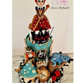 Alice in wonderland - Cake by Sara Stefanelli