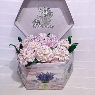 Gift box - Cake by Édesvarázs
