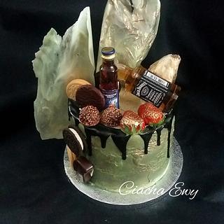 Jack Daniels  - Cake by Ewa