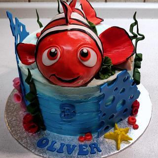 Nemo - Cake by Majka Maruška